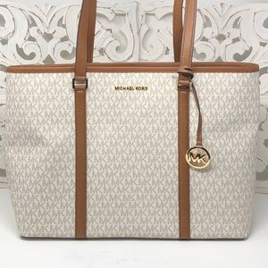 NWT Michael kors Sady large laptop bag